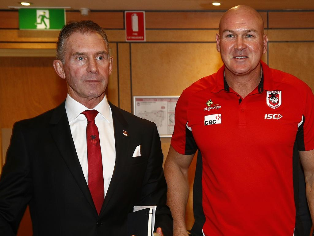 Dragons coach Paul McGregor