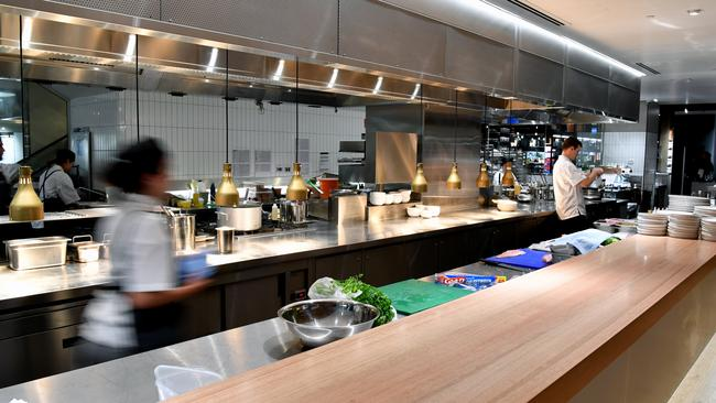 Expect all new and refurbished David Jones store to feature a food offering such as a restaurant (above, Bondi Junction) or a grocer. Picture: AAP Image/Joel Carrett.
