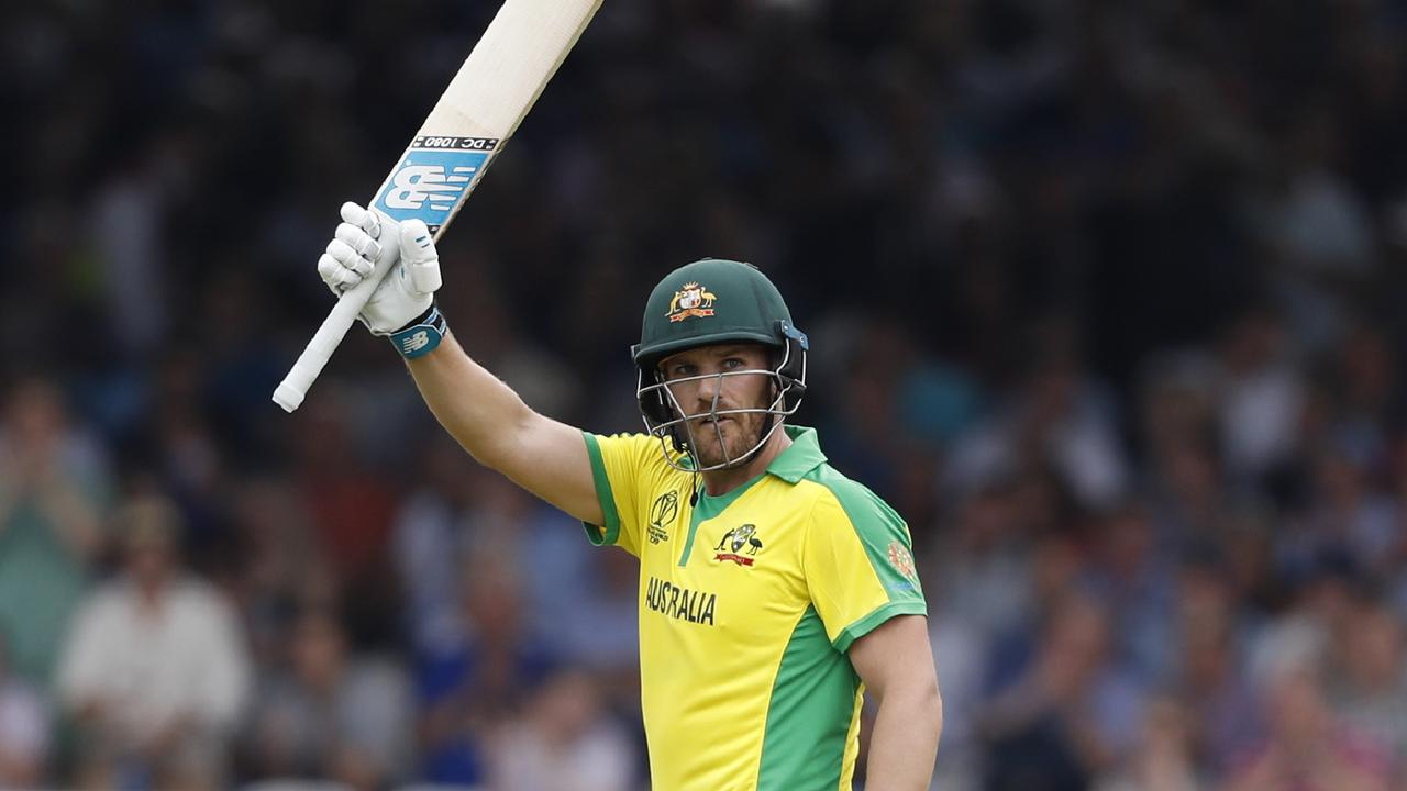 Aaron Finch scored his fourth century of 2019 against England at Lord's on Tuesday.