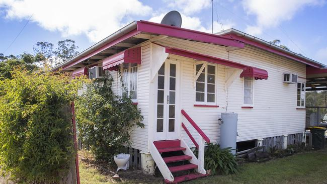 Pretty in pink … the homes brought back nostalgic feelings for the new owners. Picture: Lachie Millard.