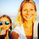 Gwyneth Paltrow and daughter Apple celebrate International Girl's Day. Picture: Instagram