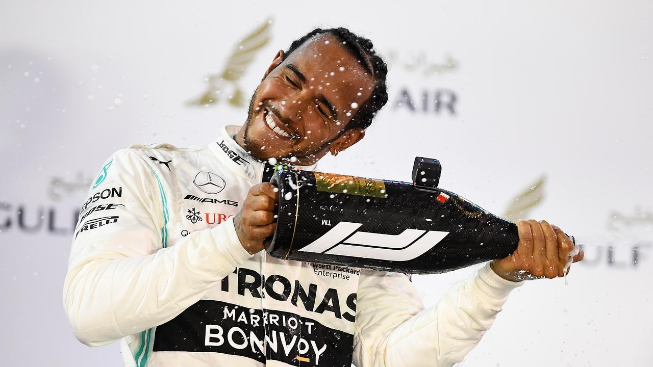 Lewis Hamilton is seeking to catch Michael Schumacher's record of seven F1 championships.