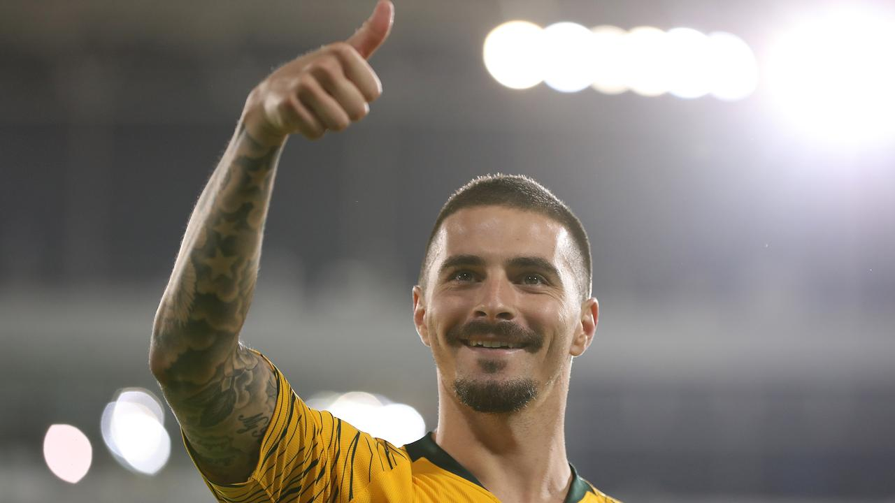 Jamie Maclaren. (Photo by Francois Nel/Getty Images)
