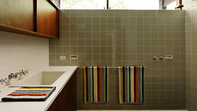 THE bathroom in the award-winning house in Wahroonga designed by architect Russell Jack.