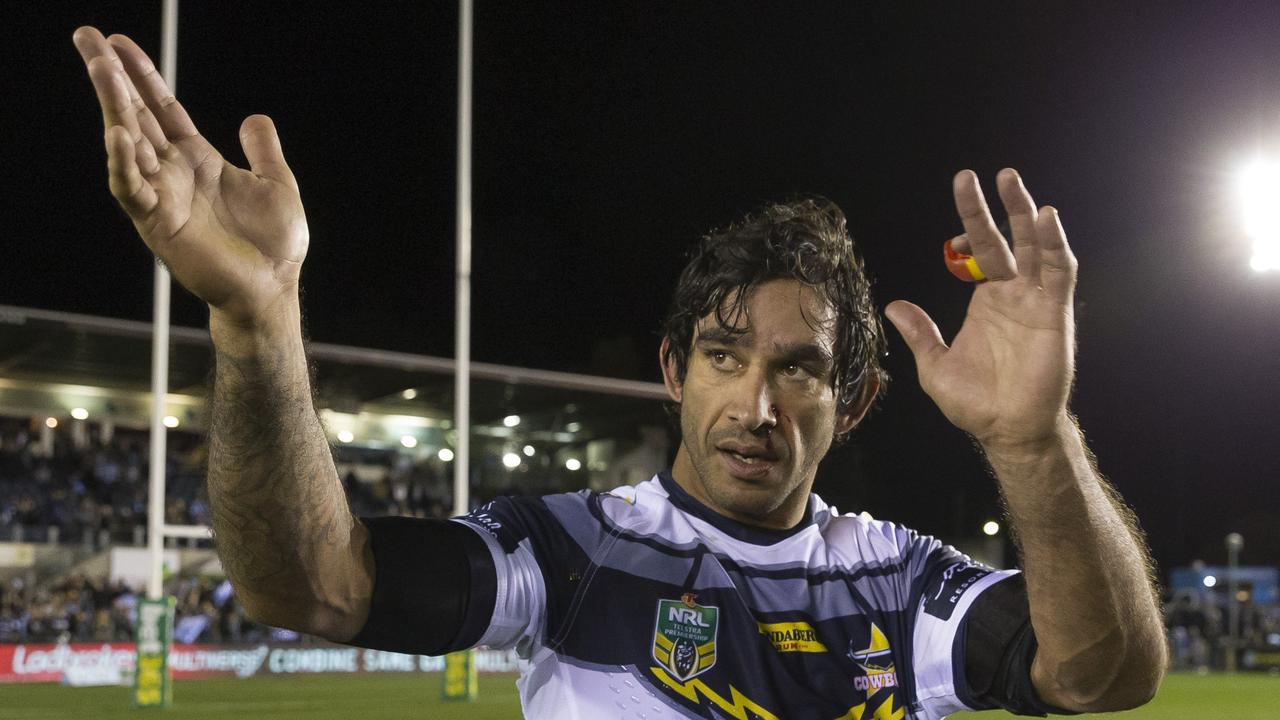 Johnathan Thurston has revealed he nearly made the switch to rugby in 2010.