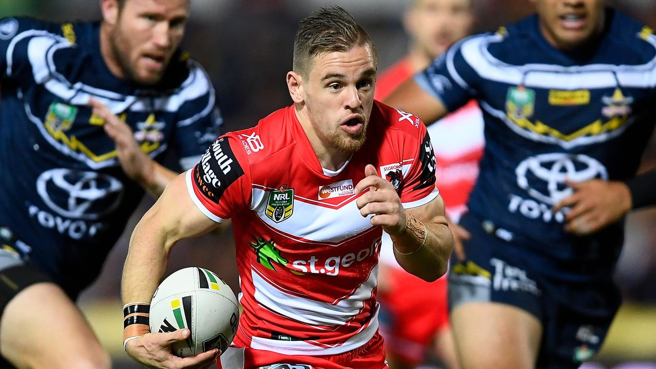Matt Dufty will be looking to prove he's the Dragons' best utility option. (Photo by Ian Hitchcock/Getty Images)