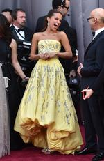 Alicia Vikander attends the 88th Annual Academy Awards on February 28, 2016 in Hollywood, California. Picture: AP