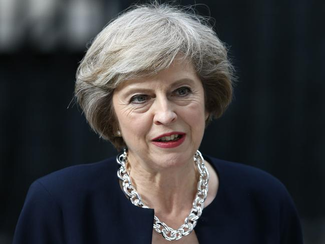 The Conservative Theresa May's turbulent time in office was swamped and ultimately sunk by her legacy-defining battle to secure a Brexit divorce deal. It eroded her authority and led to her to step down as leader. Picture: Justin Tallis/AFP