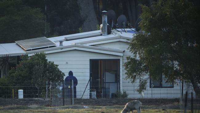 The house on Osmington Road where the shooting occurred. Picture: Michael Wilson, The West Australian.