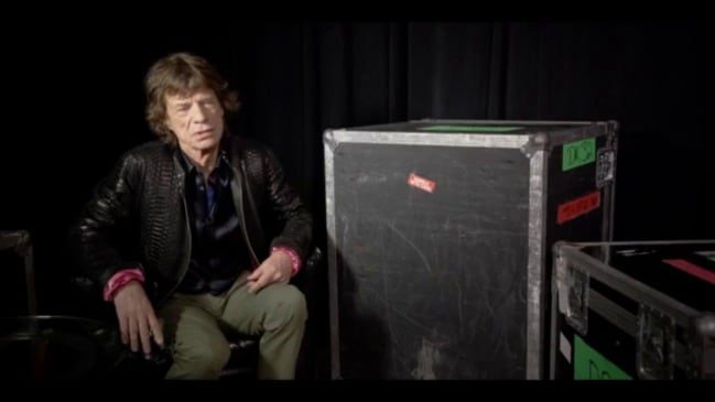 Mick Jagger talks about Exhibitionism