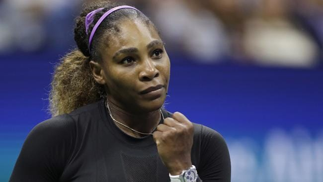One more and Williams equals Margaret Court's 24th grand slam victory. Picture: AP Photo/Adam Hunger