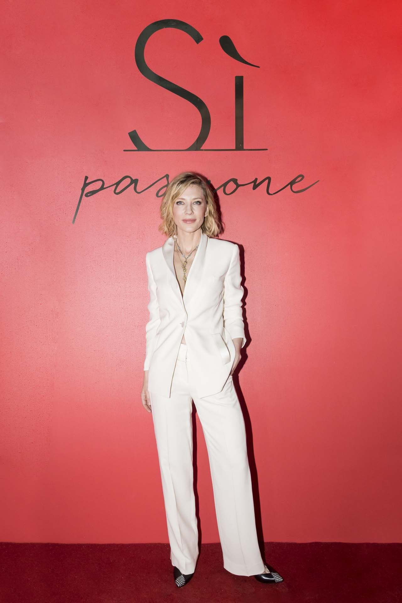 Inside the launch of Giorgio Armani Sì Passione with Cate Blanchett