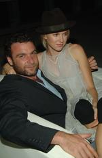 Liev Schreiber and Naomi Watts during Olympus Fashion Week Spring 2007 Calvin Klein after party on September 14, 2006 in New York City. Picture: Getty