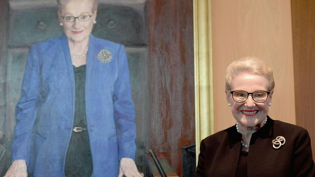 Bronwyn Bishop's official portrait. Picture: Getty