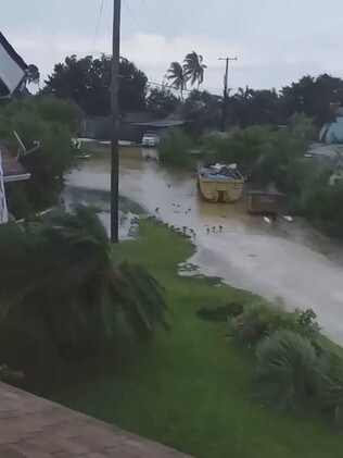 The storm wreaked havoc in the Bahamas. Picture: Twitter