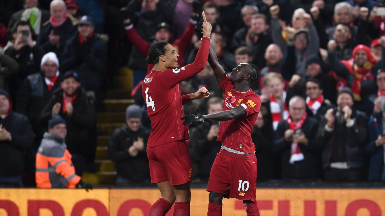 Liverpool are nine points clear of Manchester City and eight clear at the top.