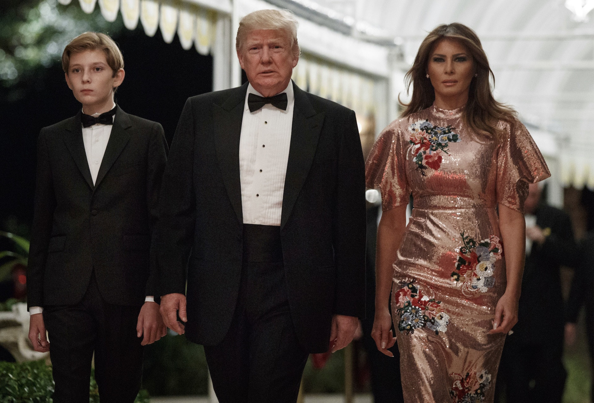 Melania Trump wore a $7,300 Erdem dress on New Year's Eve—and you can now buy it on sale