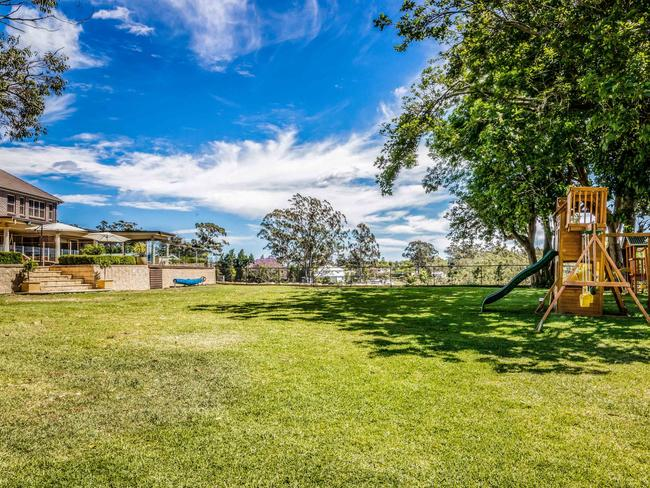 The sprawling property offers plenty of space to run and play