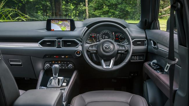 The CX-5 interior is a class above the rest. Pics by Thomas Wielecki