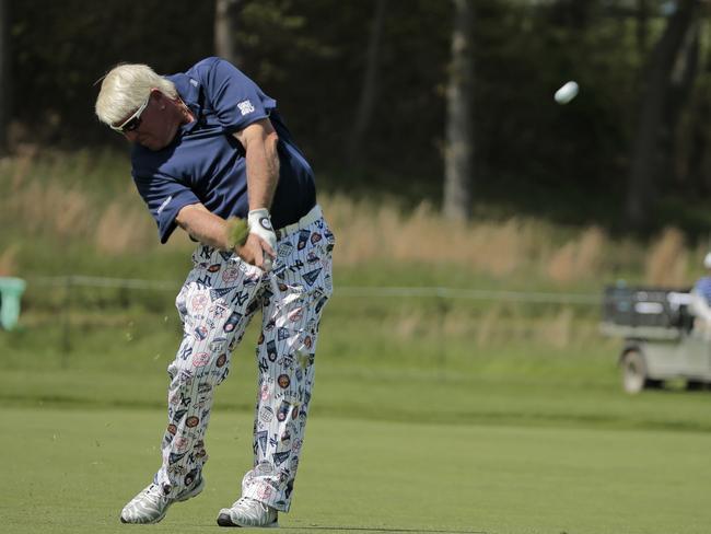 Daly's pants were a big winner.