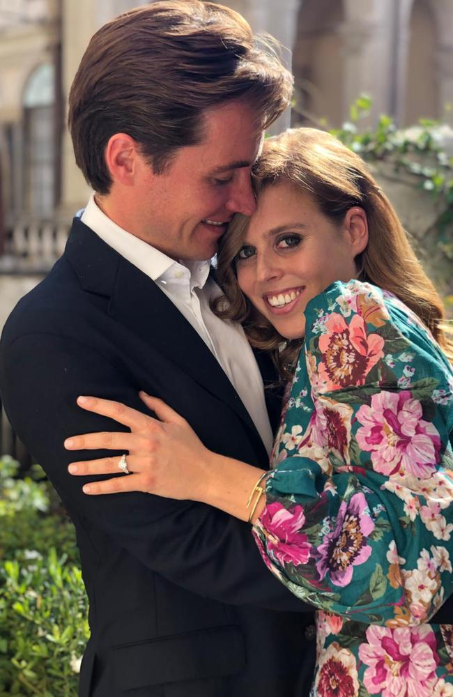 Princess Beatrice is engaged. Picture: Princess Eugenie/Buckingham Palace via Getty Images