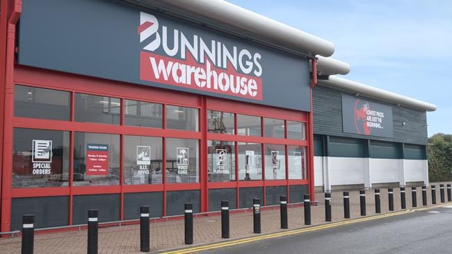 The first Bunnings store in the UK.