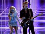 Carrie Underwood and Keith Urban perform onstage during The 59th GRAMMY Awards at STAPLES Center on February 12, 2017 in Los Angeles, California. Picture: Getty