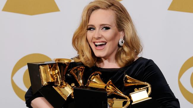 Adele is rumoured to be releasing an album later this year, which would further boost her massive fortune. Picture: Getty