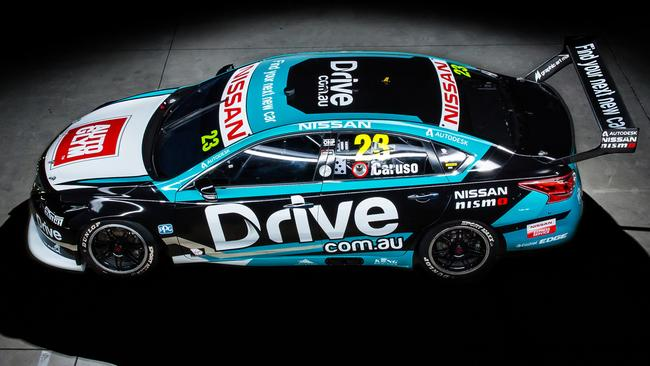 Michael Caruso's Drive.com.au Nissan NISMO No. 23 Altima for 2018.