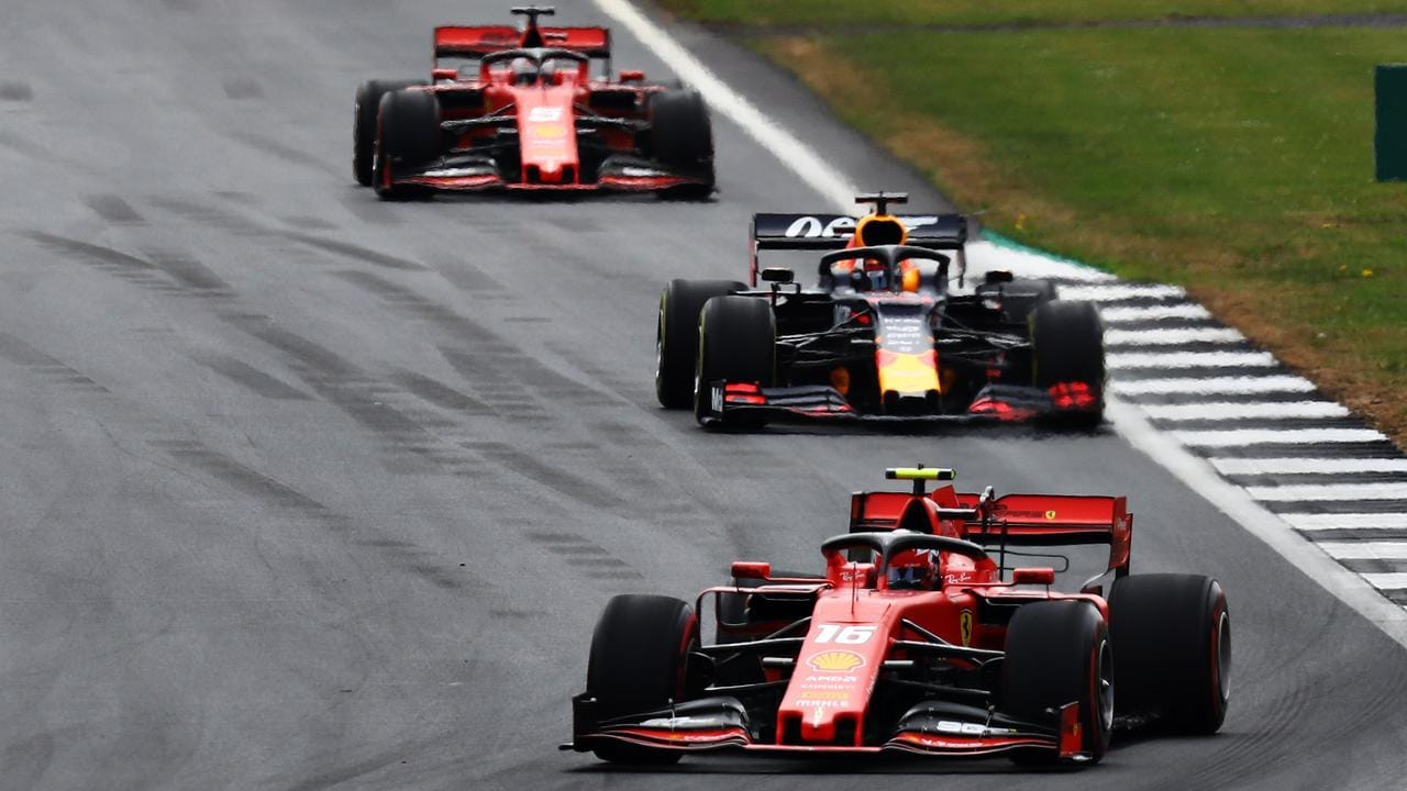 As Mercedes set the pace, Ferrari and Red Bull are joined at the hip.