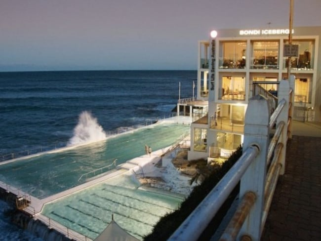 Sashay To Icebergs Dining Room And Bar Bondi At Dusk Picture Facebook