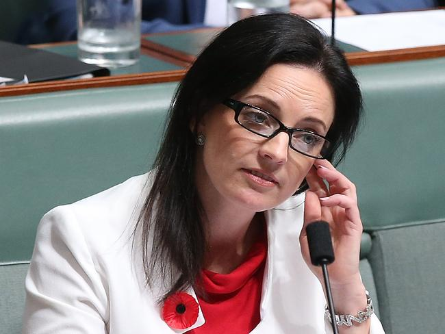 Emma Husar in the House of Representatives. Picture: Kym Smith