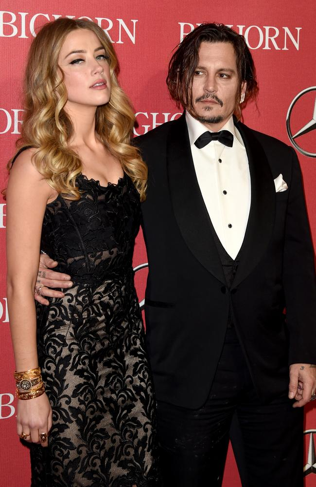 Amber Heard and Johnny Depp have finalised their divorce. Picture: Getty
