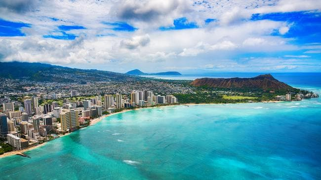 Hosking says Waikiki is one of the great destinations of the world. But he's less impressed with the hotels and service. Picture: iStock