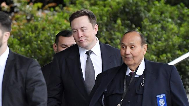 Musk says the insult was fired off in anger. Picture: AP/Mark J. Terrill
