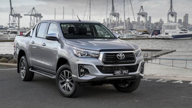 The Toyota HiLux SR5 is a reliable option. Picture: Supplied.