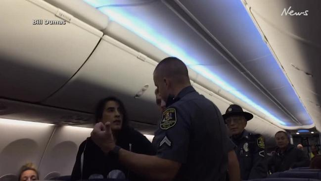 Southwest Airlines Woman Dragged Off Flight By Police After Complaint