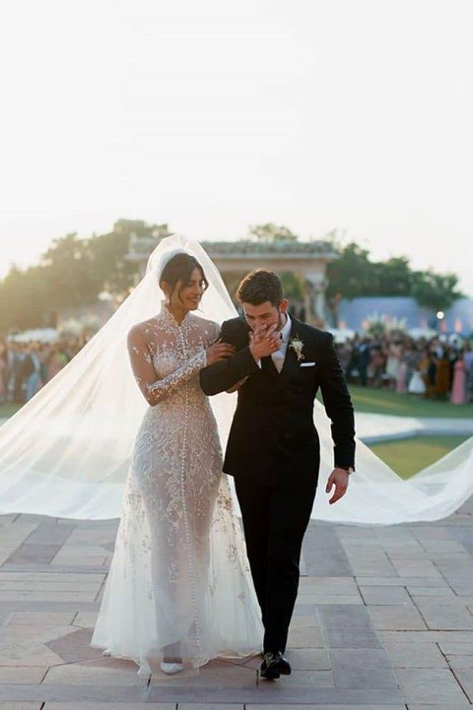 Everything To Know About Priyanka Chopras Two Wedding Dresses