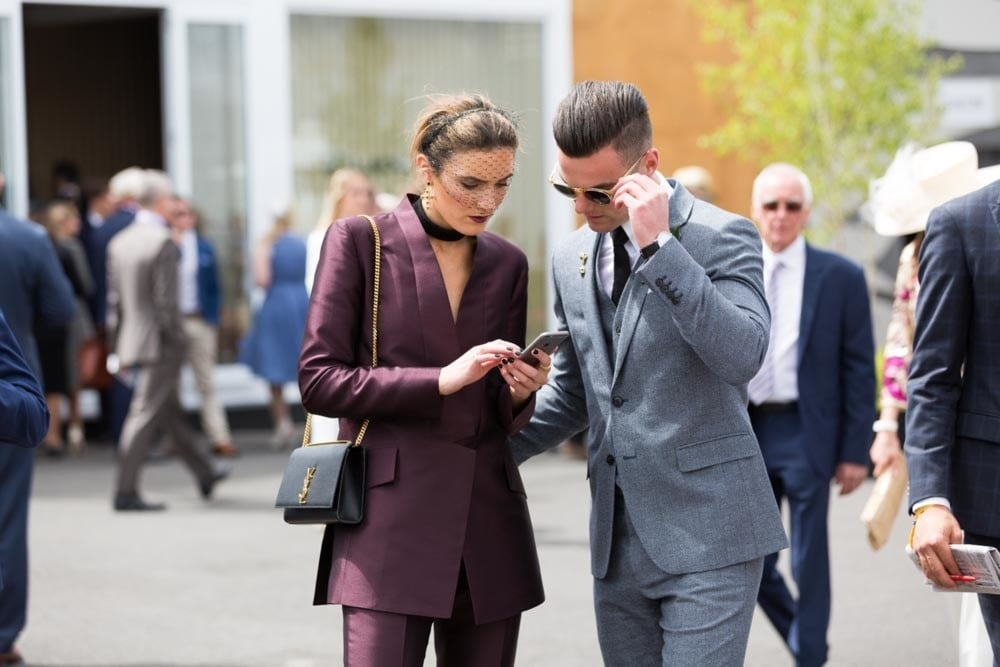 The best racing street style to inspire your Melbourne Cup day outfit