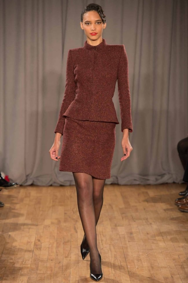 Zac Posen ready-to-wear autumn/winter '14/'15