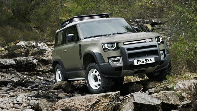 The Defender has ditched the old school styling.