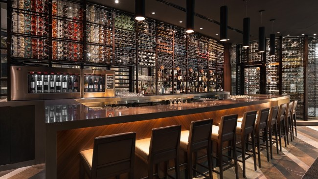 You are sure to find your perfect wine at the Black Bar and Grill. Photo: Supplied