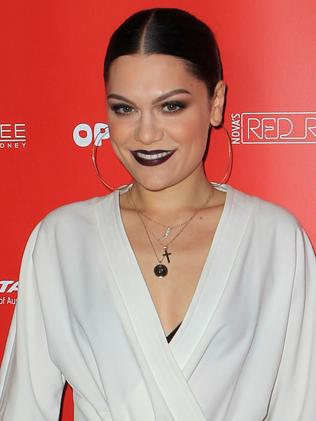 Jessie J bears a striking resemblance to his ex, Jenna Dewan. Picture: Christian Gilles