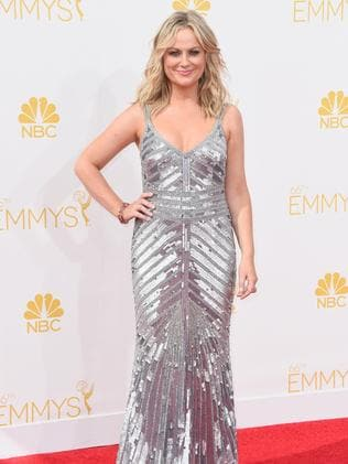 Amy Poehler attends the 66th Annual Primetime Emmy Awards.