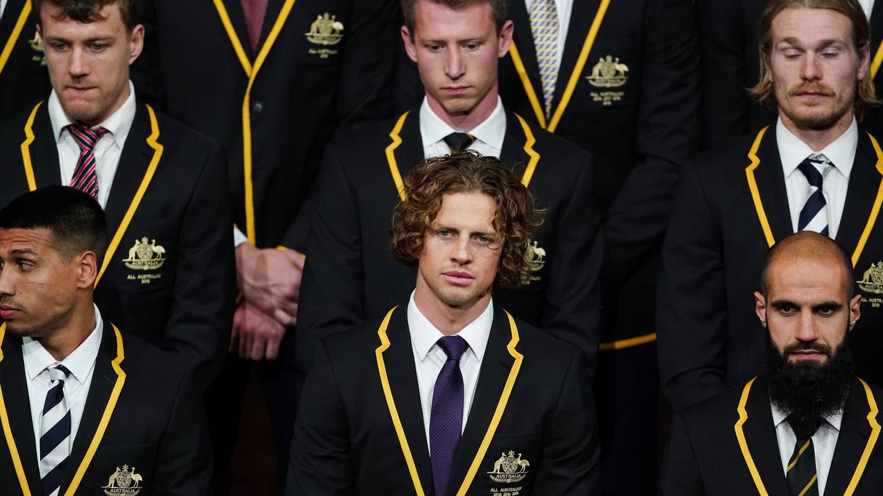 Nat Fyfe has been named All-Australian captain.