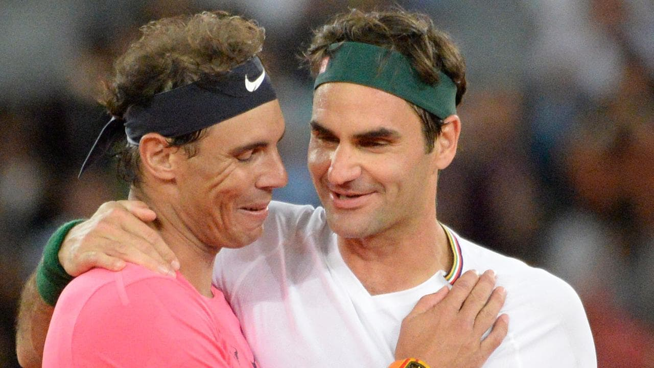Tennis News Roger Federer Makes Rafael Nadal Cry Exhibition