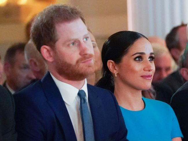Harry and Meghan are on their UK farewell tour. Picture: Paul Edwards/AFP