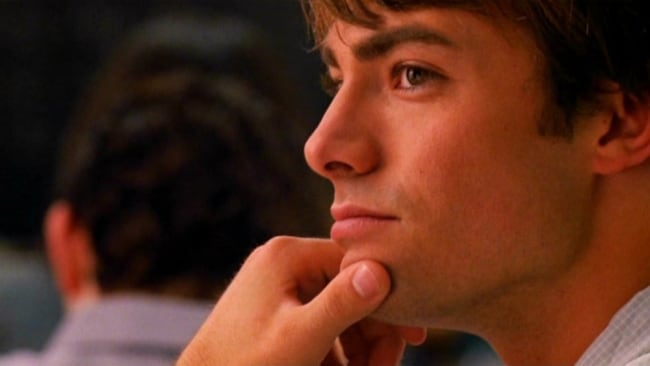 Why?? Would you cheat on Aaron Samuels?? Image: 'Mean Girls'