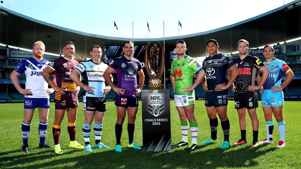 Nrl Captains Set Sights On Big Prize At  Finals Series Launch