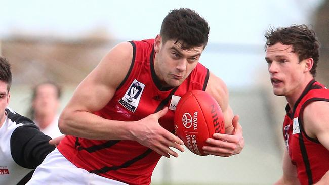 Essendon VFL gun Alex Boyse is a genuine AFL draft prospect. Picture: Mark Dadswell
